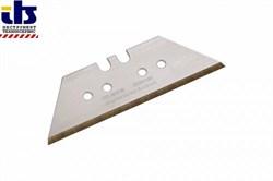 Комплект лезвий трапецивидных PROFI-TiN для ножа 0,65х18х52мм 5 шт - фото 82466