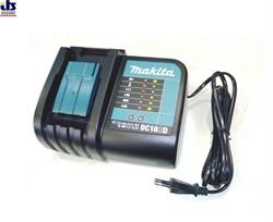 Зарядное устройство MAKITA DC18SD (7.2 / 18В, Li-ion)  (197006-8) (630570-1) - фото 85821