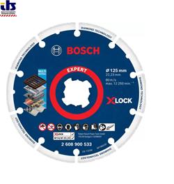 Алмазный круг BOSCH X-LOCK Expert Diamond Metal Wheel 125х22,23 мм Professional  (2608900533) - фото 88001
