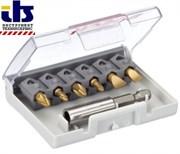 Bosch Набор из 6 насадок-бит Bosch Max Grip, PH/PZ + держатель, длина 25 мм 2607001937