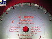 Bosch Круг алмазный D 230 BOSCH-красные Стройматериалы (2608600203) 2608600203
