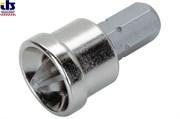 Комплект бит PН2  25 мм  2 шт с упором ограничения глубины для работ по внутренней отделке, гипсокартону, ДВП, ДСП