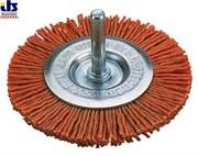 Щетка дисковая очистная нейлоновая 75мм для дрелей