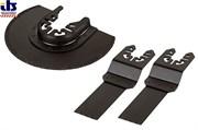 Набор полотен  металл/дерево для вибрационной пилы HSS d 85mm, Bim 22x35 mm, HCS 22x45 mm (для BOSCH, Black end Decker, FEIN)