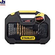 Stanley STA7184 -XJ Набор Stanley, сверл и бит Family+ 70шт.