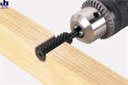 Wolfcraft 2530000 Рашпиль цилиндрический для профилирования: диаметр 12мм, рабочая длина 35мм, хвостовик 6,35мм