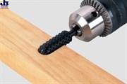 Рашпиль цилиндрический выпуклый для профилирования 12х35мм хвостовик 6,35мм