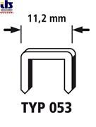 Скоба 053 (А) ширина спинки 11,2 мм/ 4мм 2400шт.