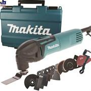 Многофункциональный инструмент (реноватор) MAKITA TM 3000 CX 3 в чем. + набор оснастки (320 Вт, 6000 20000 об/мин, набор из 45 предметов) (TM3000CX3)