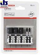 Набор торцевых головок 8-13 мм и ударных бит Impact Control BOSCH PH2, PZ2 [2608522350]