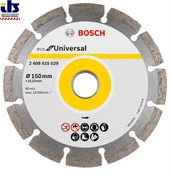 Алмазный круг 150-22,23 BOSCH ECO Universal [2608615029]
