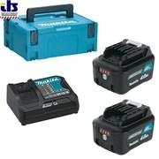 Аккумуляторный блок 10,8/12В 2х4.0 Ah + зарядное DC10SB MakPac, MAKITA