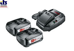 Аккумуляторный блок PBA 18 В 2х2,5Ah + зарядное AL 1830 CV, BOSCH