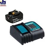 Набор аккумуляторов BL1830B 3.0 Ah (-1-) + зарядное DC18SD MAKITA (191A23-6)