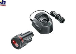 Комплект аккумулятор 12.0 В PBA12 V 1 шт. + зарядное устройство GAL1210 (Набор PBA 12 V 1,5Ah 1 шт. + GAL1210) (BOSCH) (1600A01L3D)