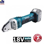 Ножницы шлицевые аккумуляторные Makita DJS161Z (18В,Li-ion,4300об\м,рез-1.6мм,2кг,кор,minRреза-250мм,б\акк и з\у)