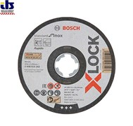 Отрезной круг X-LOCK 125x1x22.23 мм Standard for Inox BOSCH (2608619262)