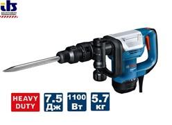 Отбойный молоток SDS-max GSH 500 (7,5Дж/1100Вт), BOSCH
