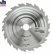 Bosch Пильный диск Speedline Wood 150 x 20 x 2,2 mm, 9 2608640780