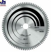 Bosch Пильный диск Optiline Wood 254 x 30 x 3,2 mm, 24 2608641763