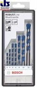 Bosch Набор из 7 свёрл по бетону Robust Line Blue Granite 4; 5; 6; 6; 8; 10; 12 mm 2607010544