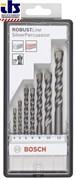 Bosch Набор из 7 свёрл по бетону Robust Line Silver Percussion 4; 5; 6; 6; 8; 10; 12 mm 2607010545