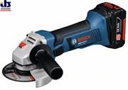 Bosch Аккумуляторная угловая шлифмашина GWS 18 V-LI 060193a300