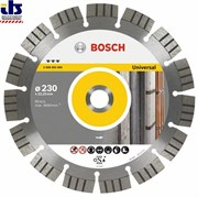 Bosch Алмазный отрезной круг Best for Universal and Metal 125 x 22,23 x 2,2 x 12 mm 2608602662