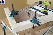 Wolfcraft 3036000 Струбцина для рабочих столов 120мм