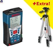 Лазерный дальномер Bosch GLM 150 + BS 150 [061599402H]